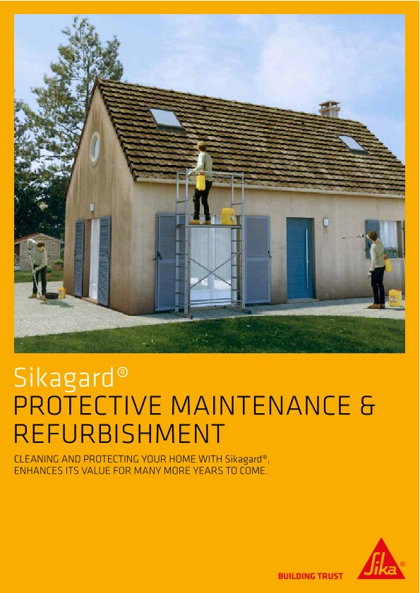 Sikagard - Protective Maintenance & Refurbishment