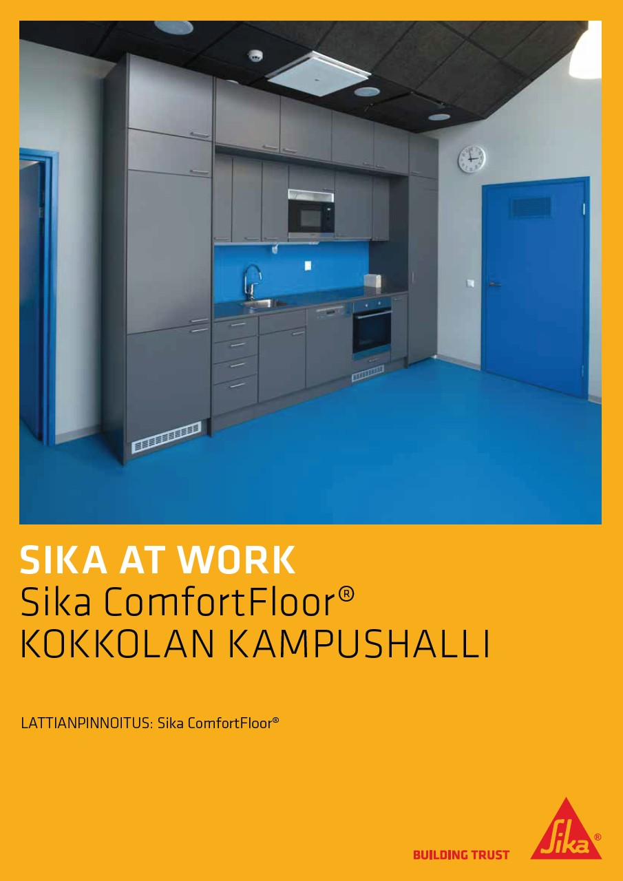 Sika at Work -referenssiesite